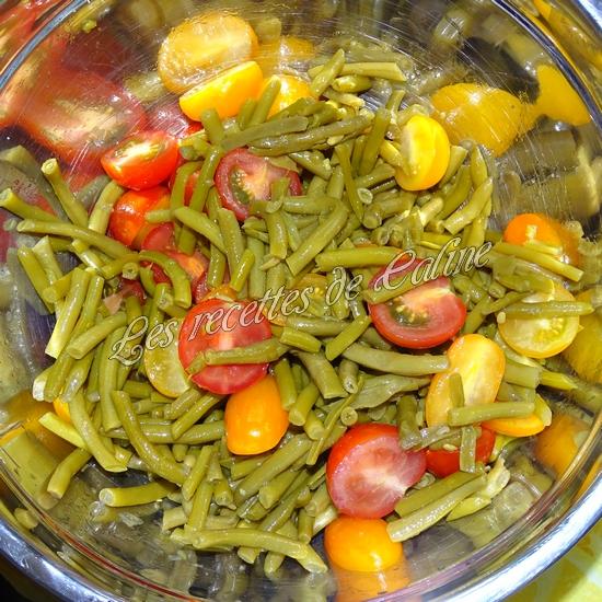 Salade de haricots verts et tomates cerises06