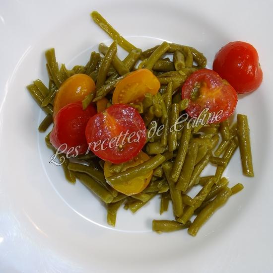 Salade de haricots verts et tomates cerises07