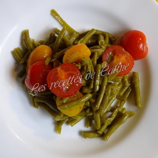 Salade de haricots verts et tomates cerises08