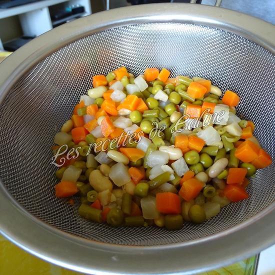Salade printanière au jambon01