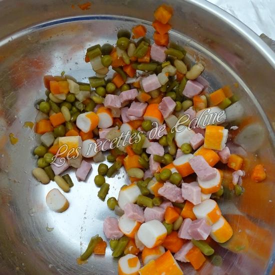 Salade printanière au jambon09