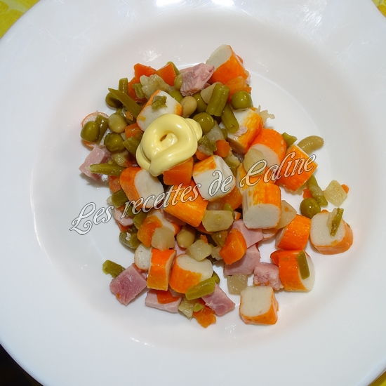 Salade printanière au jambon12