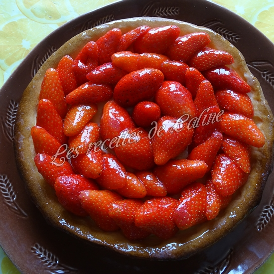 Tarte aux fraises46
