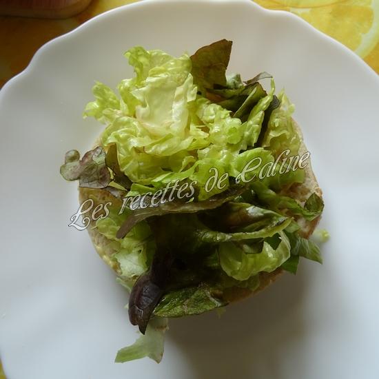 Bagel à la pomme et salami06