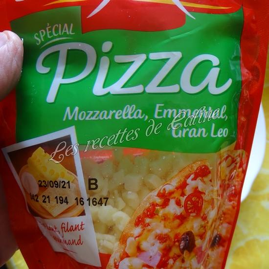 Bagel pizza au poulet & champignons12