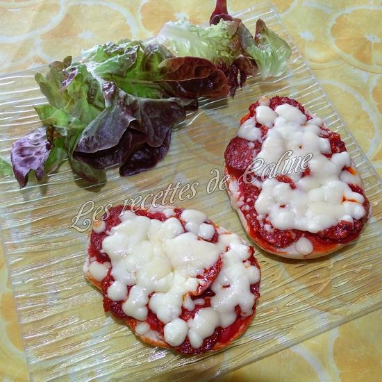 Bagels pizza au chorizo07