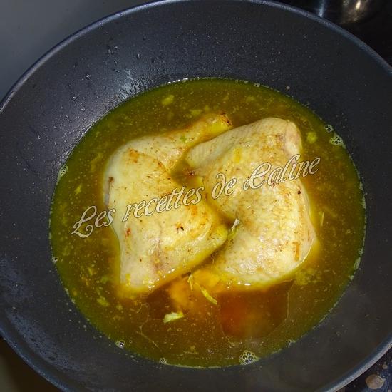 Cuisse de poulet au riz safrané14
