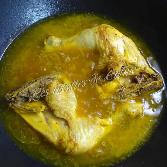 Cuisse de poulet au riz safrané15
