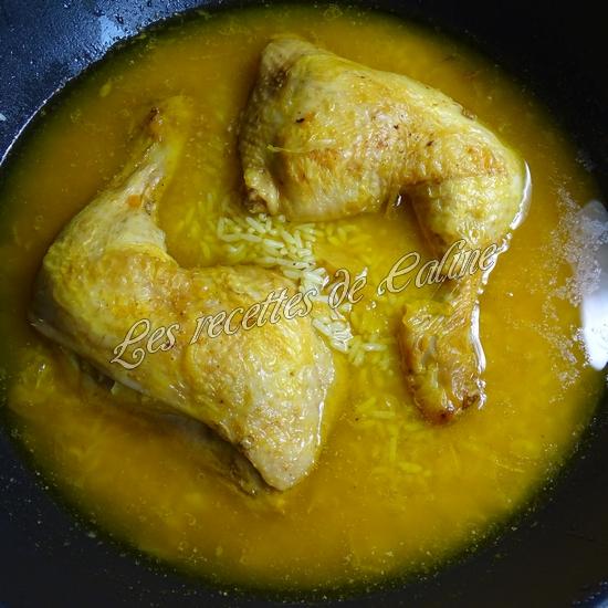 Cuisse de poulet au riz safrané17
