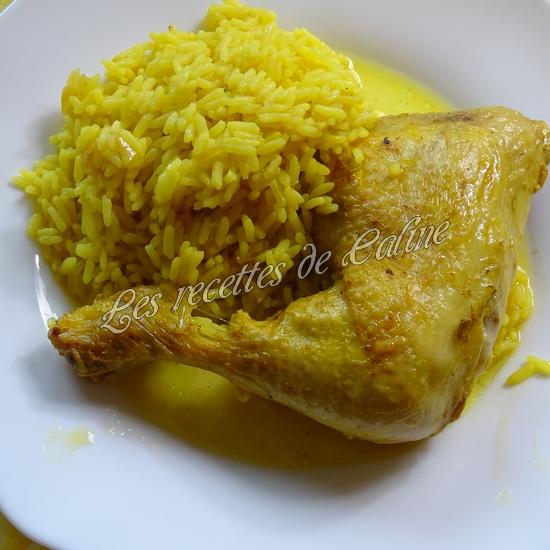 Cuisse de poulet au riz safrané19