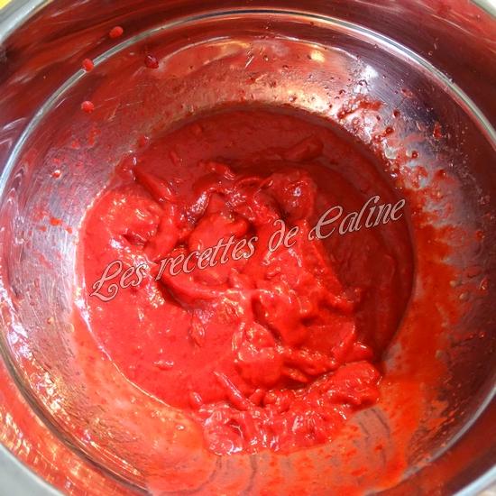 Salade melon, framboises et magret de canard08