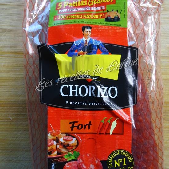 Gratin de chorizo raclette09