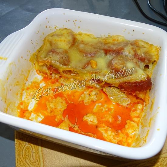 Gratin de chorizo raclette20
