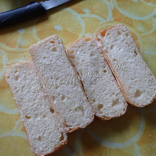 Petit pain pizza au poulet, champignons et boursin07