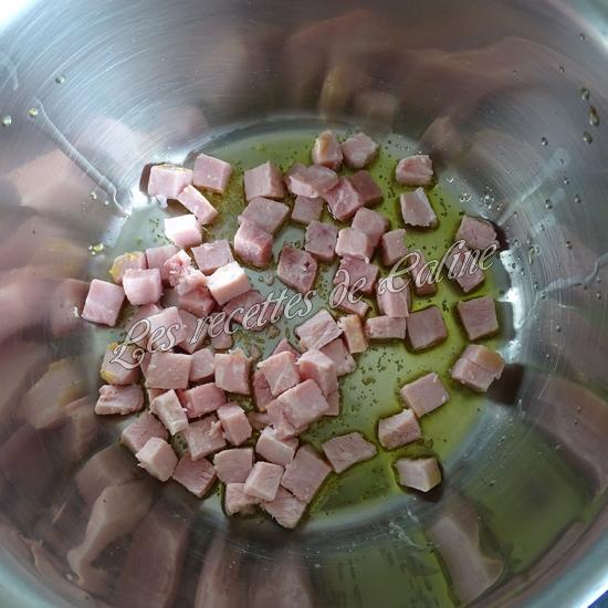 Risotto de perles de blé au jambon04