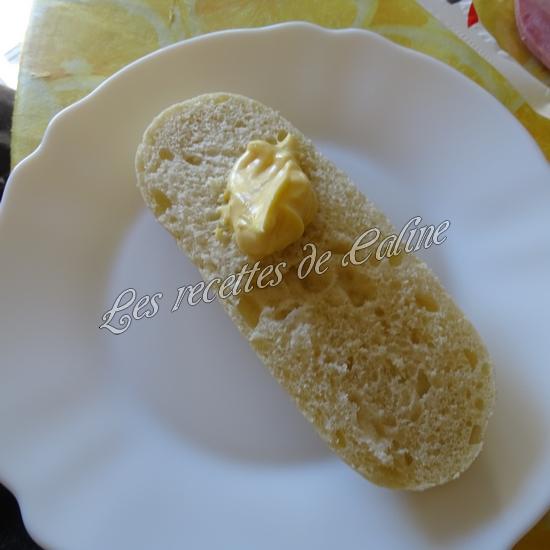 Sandwich jambon mimolette crudités03