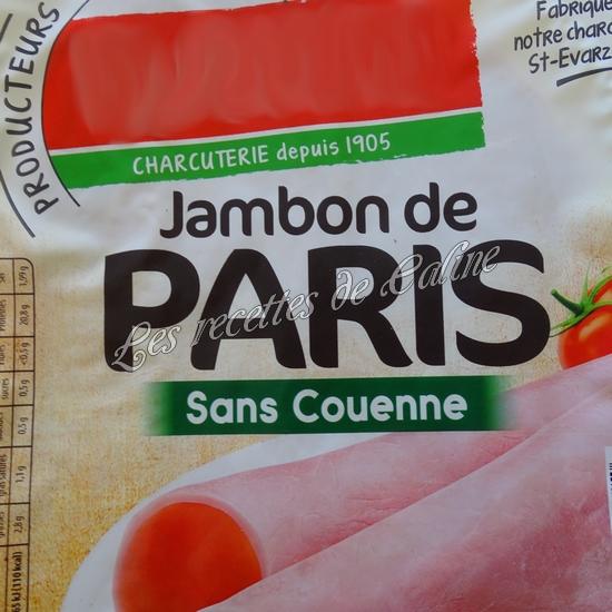 Sandwich jambon mimolette crudités04