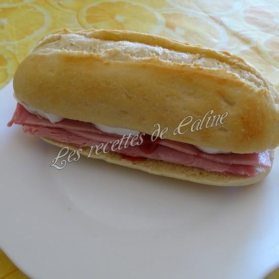 Sandwich jambon mimolette crudités20