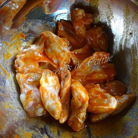 Wings marinés à la sauce Sriracha13