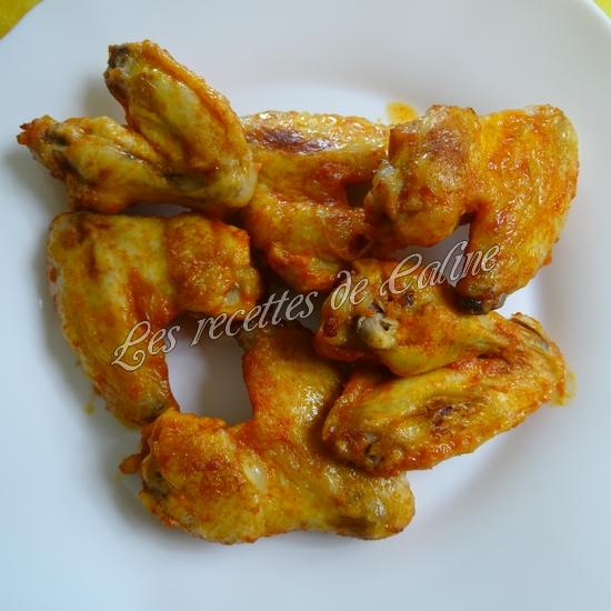 Wings marinés à la sauce Sriracha18