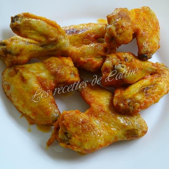Wings marinés à la sauce Sriracha19