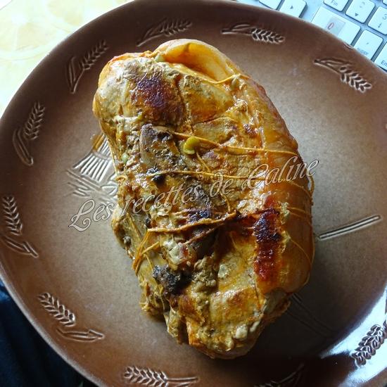 Rouelle de porc en cocotte et ses petits légumes et coulis de tomate19